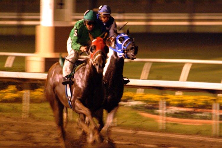 El verdadero dinero para los jinetes proviene de que lleguen en primer o segundo lugar en las grandes carreras.