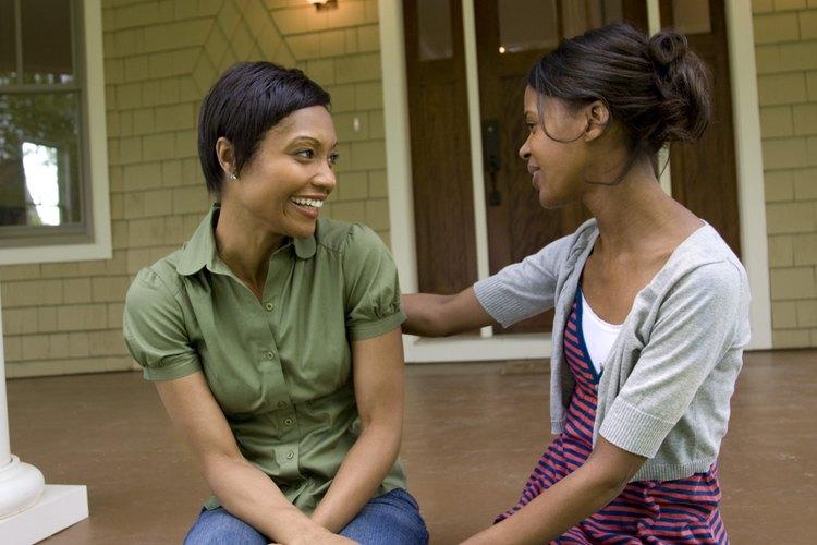 Tratar de comprender a un adolescente es una parte importante de demandar respeto.