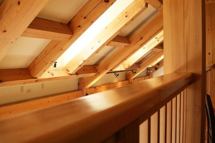 La madera es un material de construcción bello y saludable.
