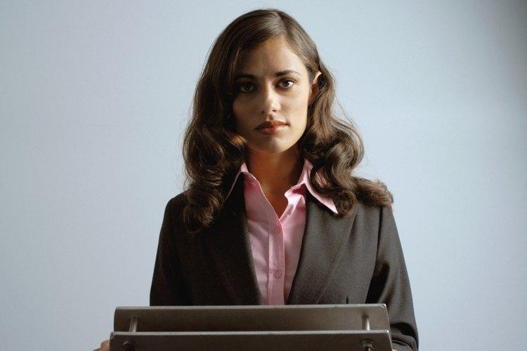 Una boca seca es una manifestación de ansiedad al hablar en público.