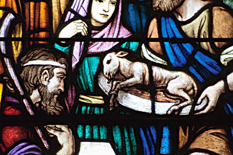 Los sacerdotes levitas realizaban sacrificios en el templo.