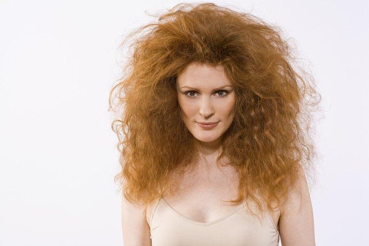 Cortes para cabello esponjado grueso