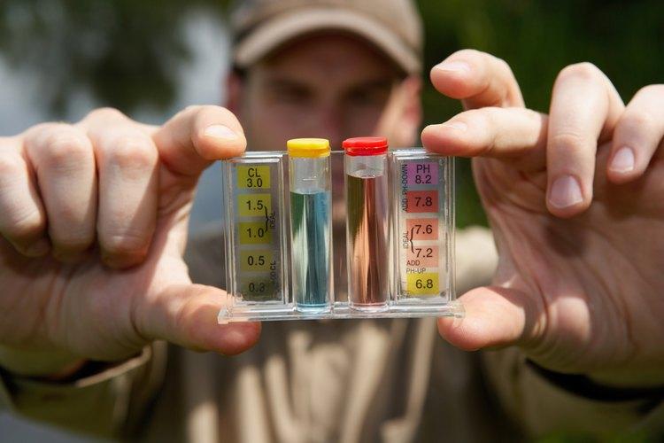 Debido a que el cloro es alto en pH, afectará el equilibrio del pH de una piscina.
