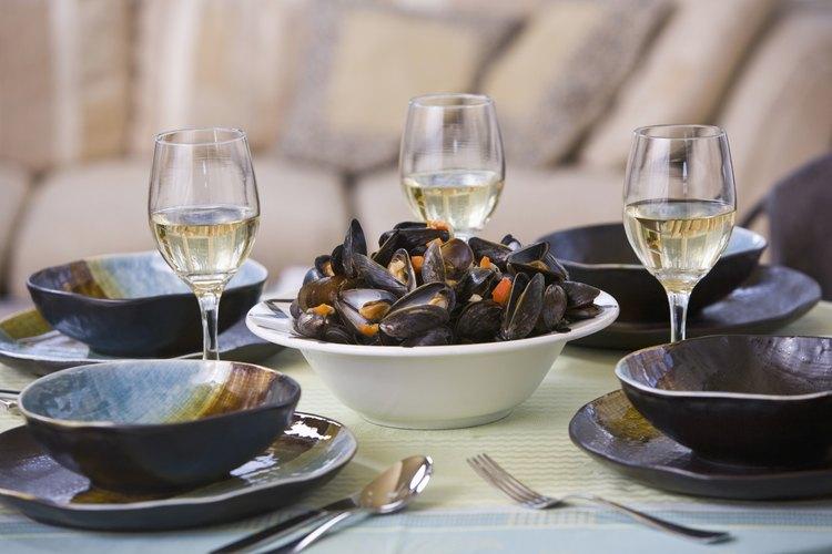 Las almejas frescas transportan el sabor salado del mar a tu mesa.