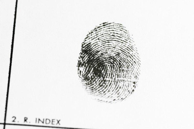 Tienes que proporcionar tus huellas dactilares para obtener tu registro de arresto en Utah.