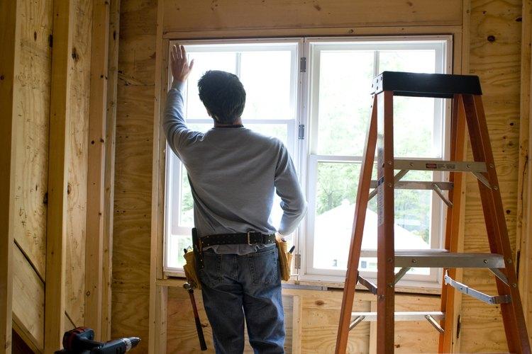 Cuando una ventana se rompe, generalmente es su panel de vidrio.