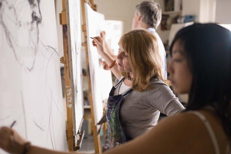 Una carrera artística con alto salario no significa necesariamente que vas a tener que actuar.