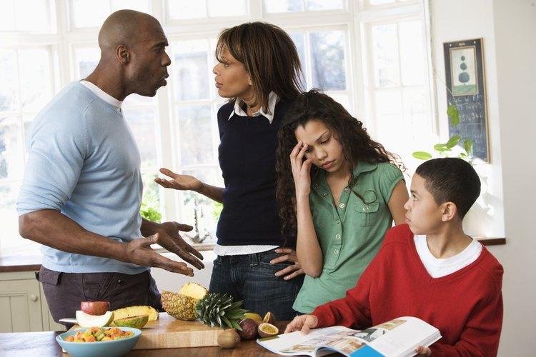 Todos son afectados por conflictos familiares.