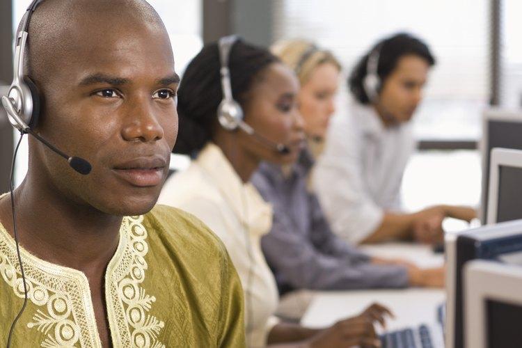 Alrededor del 3 por ciento de la población de Estados Unidos trabaja en un call center.