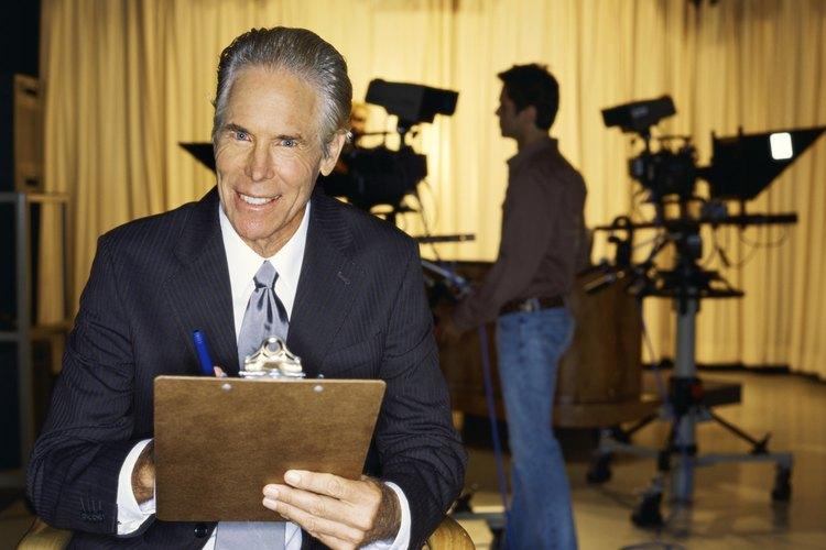 Presentador de televisión.