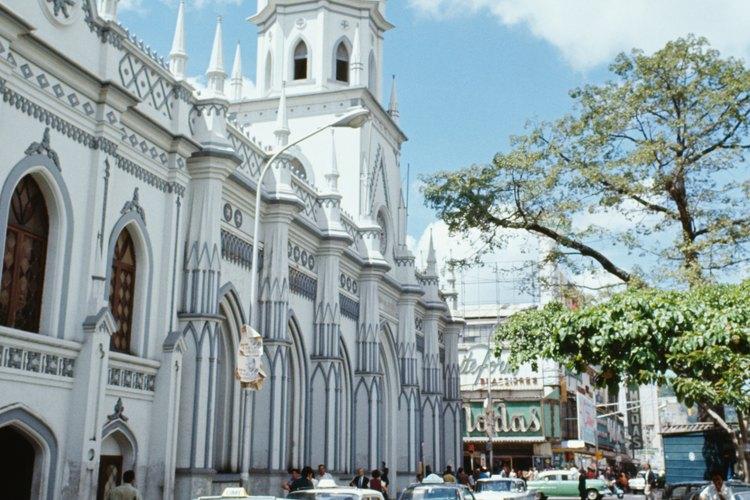 Caracas ha preservado su arquitectura colonial.