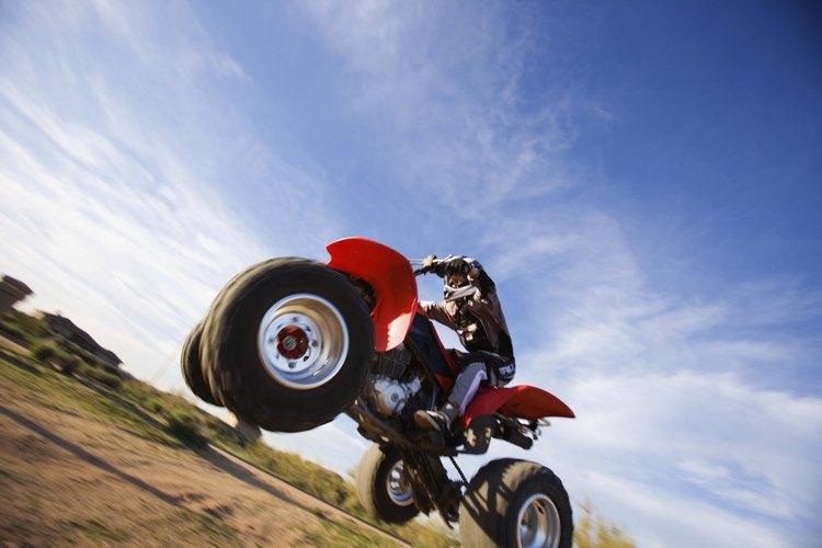 Encontrarás senderos específicos para ATV de Texas en varios de los parques del estado.