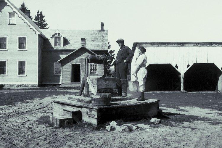 Algunas herramientas para excavar pozos se han utilizado durante miles de años.