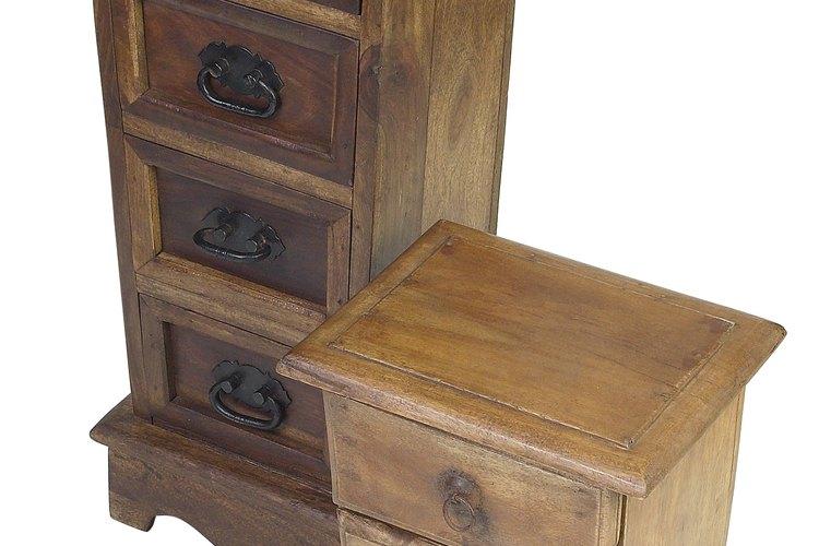 Cualquier mueble puede ser hecho de madera.