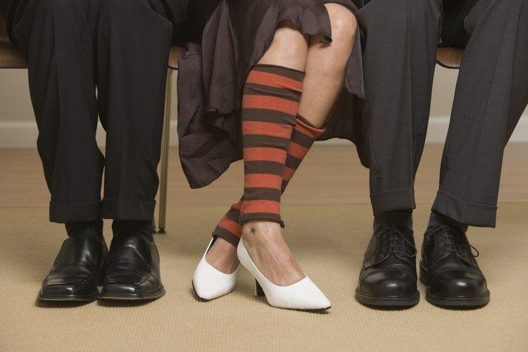 Las polainas se volvieron parte de la moda de calle durante los años 80.