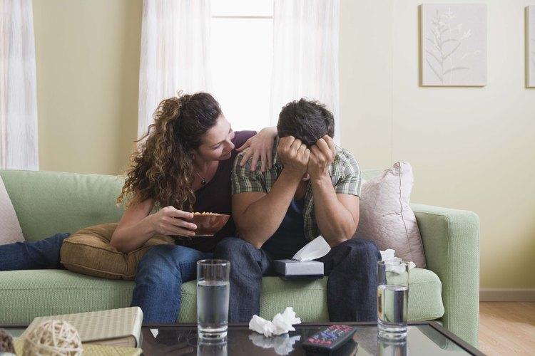Ofrécele tu apoyo a tu novio en esa etapa difícil.