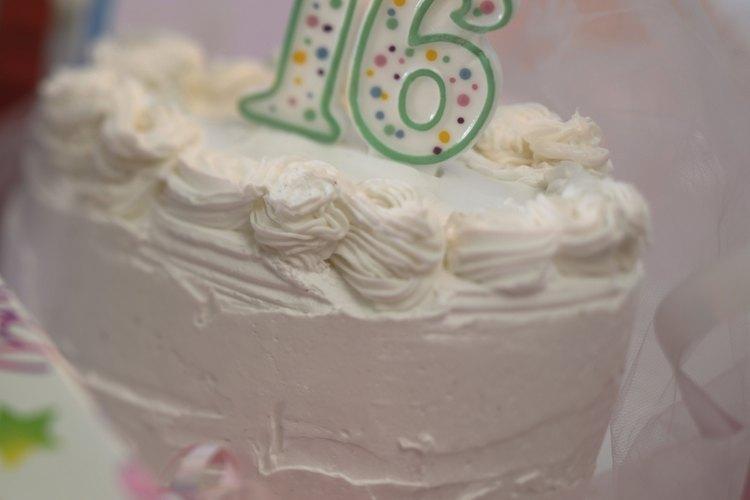 El cumpleaños de 16 de una chica es un evento importante.