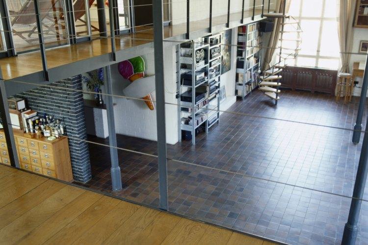 La altura de un loft juega un papel muy importante en la sensación de amplitud.