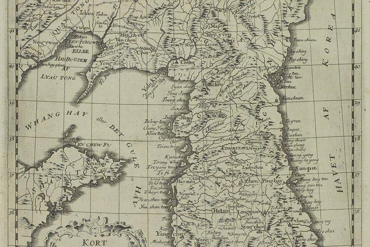 La guerra de Corea tuvo lugar en la península homónima.