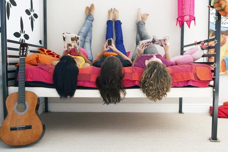 Muchos adolescentes gustan de modelos y colores llamativos.
