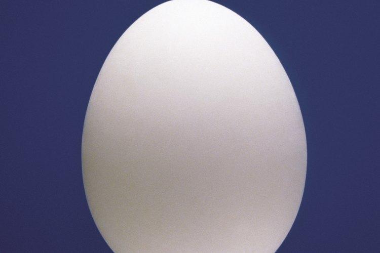 Comienza a pasar el huevo por todo tu cuerpo