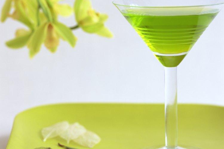 El martini saborizado de pepino es una opción para cualquier ocasión.