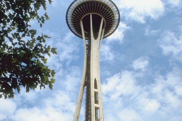 El icónito Space Needle fue construido para la feria mundial de 1962