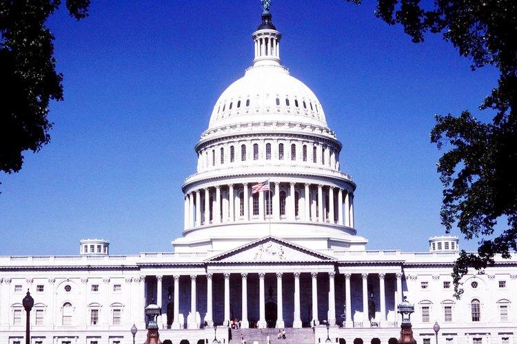 Los grupos de presión representan industrias y organizaciones que buscan apoyo de los políticos.