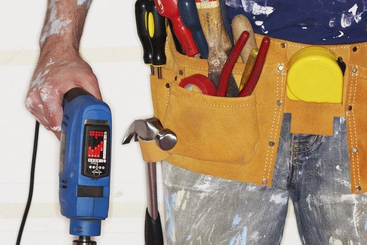 Utiliza el martillo perforador de manera precisa.
