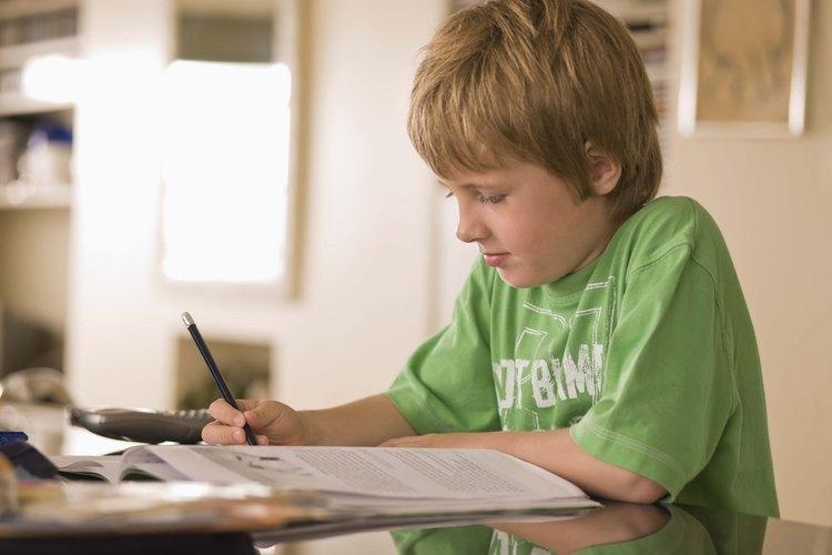 Los deberes son una parte esencial del éxito en la escuela.