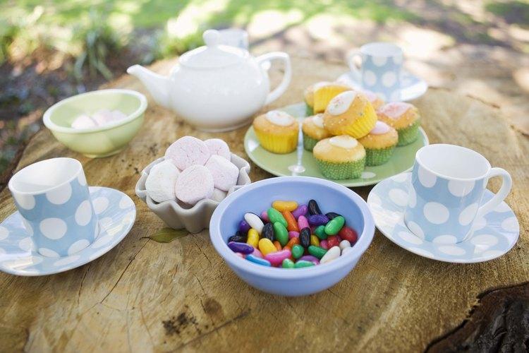 Ideas para la fiesta del té.