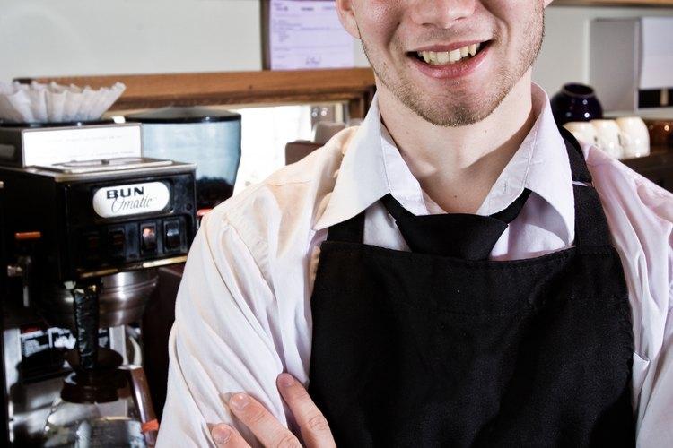 Trabajar como barista de Starbucks no es tan libre de estrés como el medio ambiente de la cafetería.
