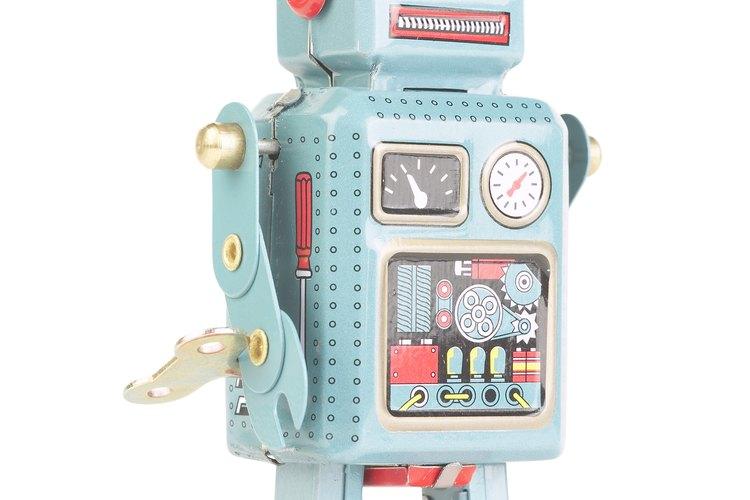 Ingenieros que diseñan robots.