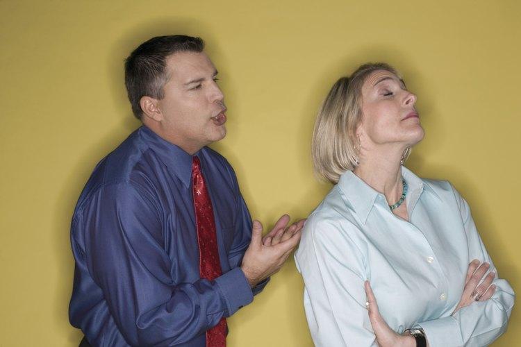 Resolver un conflicto en el trabajo requiere que todas las personas interesadas sean receptivas.