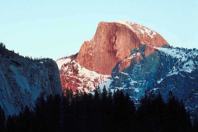 Half Dome es uno de los aspectos más destacados de la John Muir Trail.