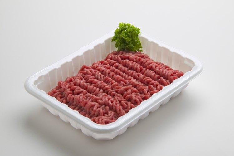 Muchas comidas de carne molida se hacen en menos de 30 minutos.