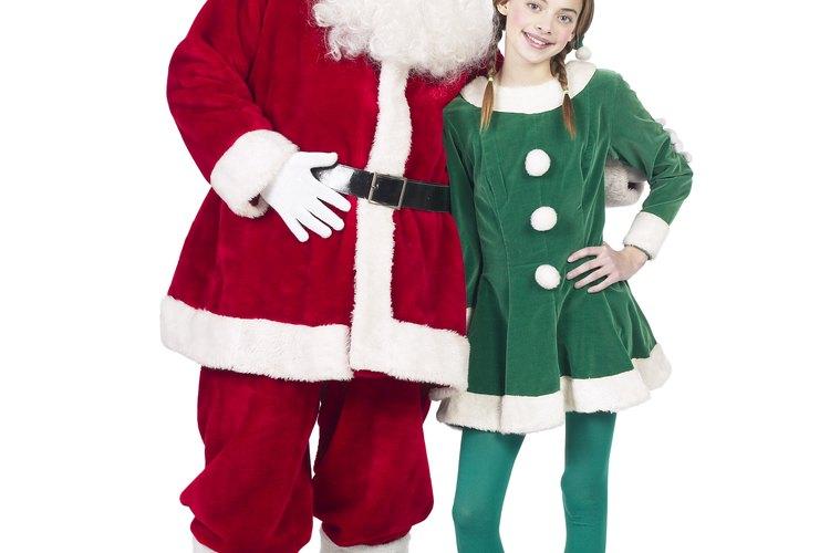 Haz un disfraz de duende para Navidad, Mardi Gras o Haloween.