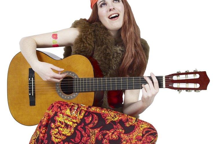 El movimiento hippie comenzó en los Estados Unidos.