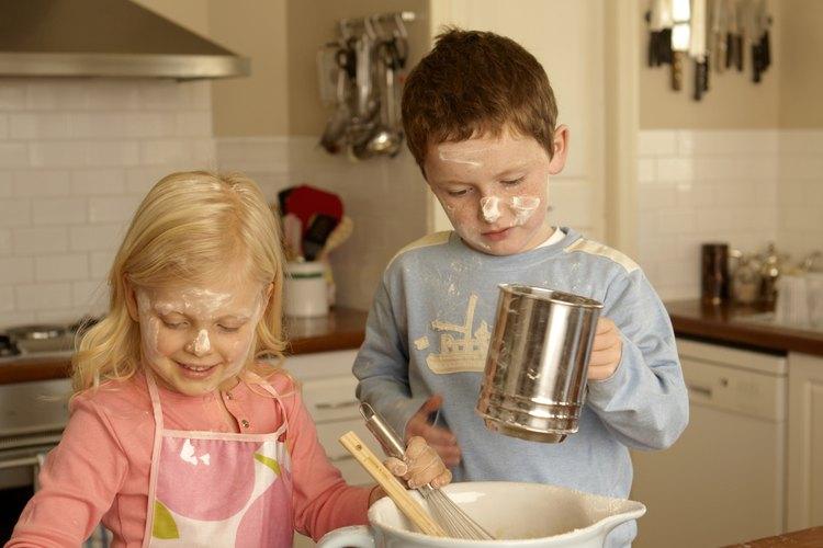 La mantequilla puede sustituir a la manteca en la mayoría de las recetas de galletas.