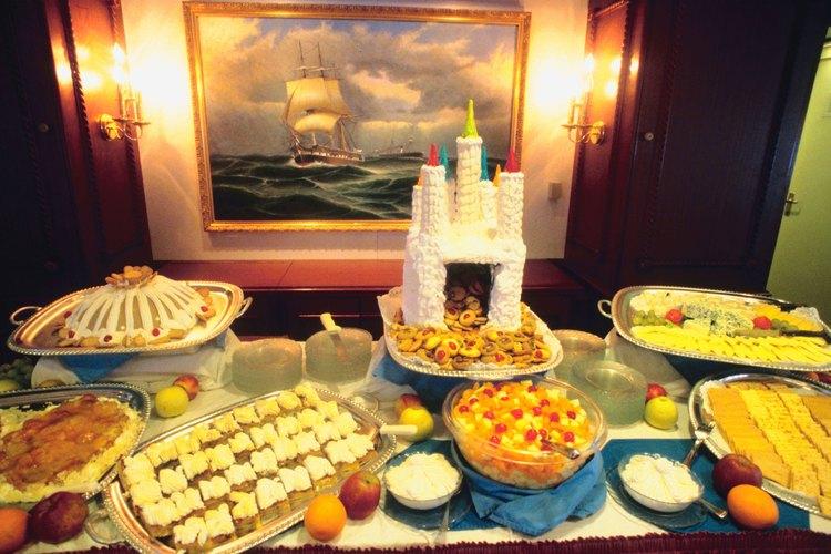 Los cruceros emplean chefs con diversas funciones y habilidades.