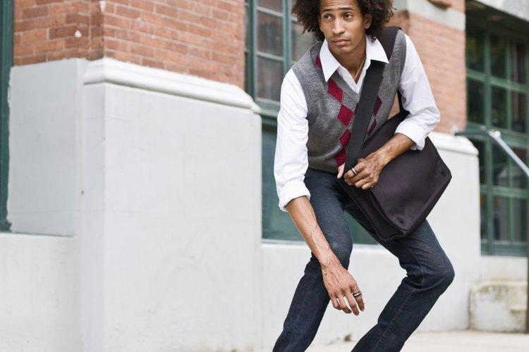 Las zapatillas negras Chuck Taylor All Star eran parte original de la marca Converse.
