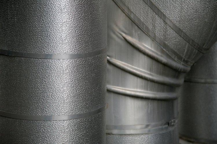 El metal galvanizado se parece mucho al acero inoxidable.