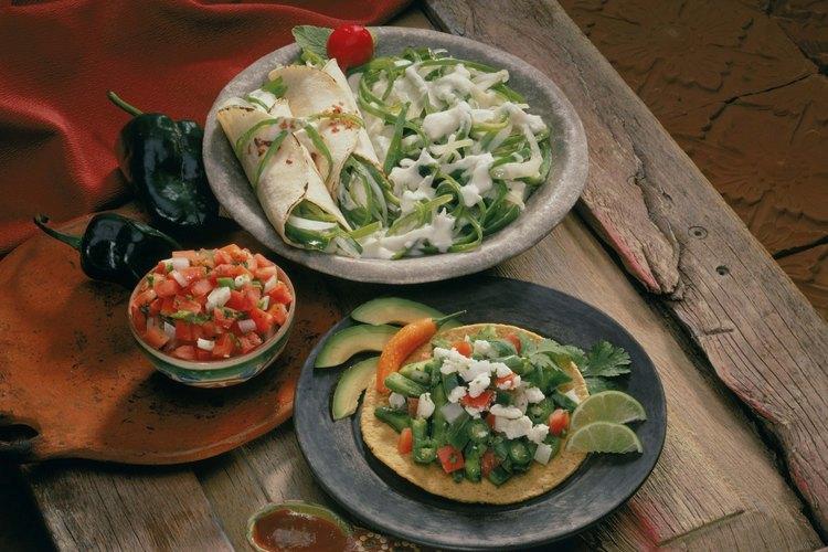 Los chiles guajillo son utilizados en salsas.