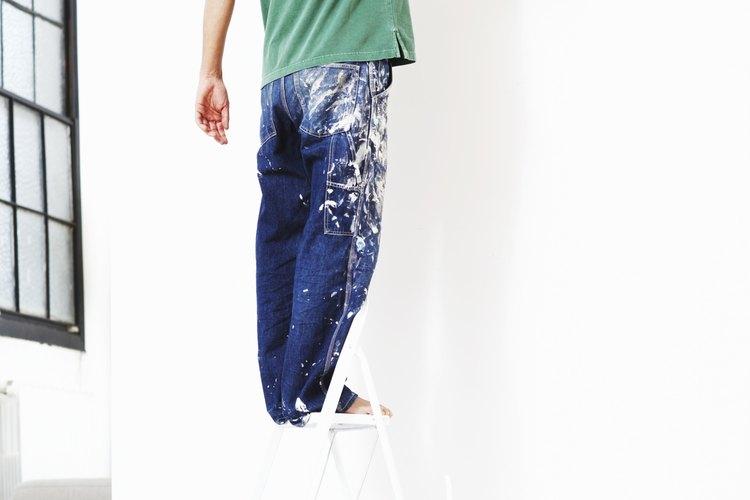 Puedes erradicar las manchas de grasa siempre y cuando lo hagas antes de volver a pintar las paredes.