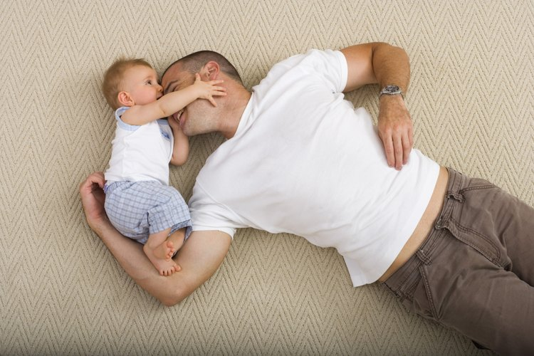Los padres ausentes que siguen involucrados en la crianza del niño pueden ayudar al pequeño a lidiar con los sentimientos de pérdida.