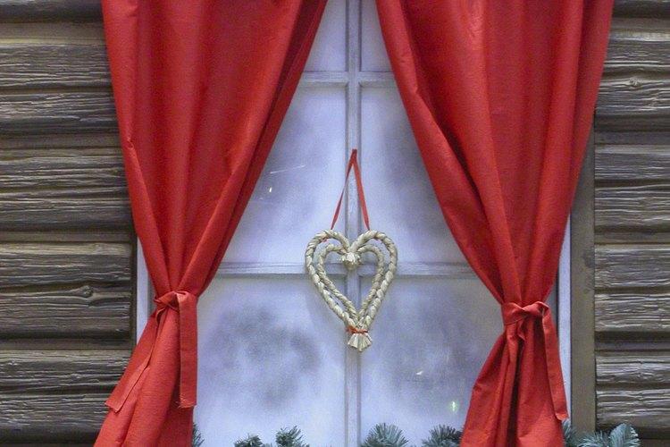 Las barras funcionan bien para cenefas o cortinas.
