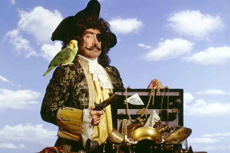 Las fiestas de piratas deben tener juegos de piratas.