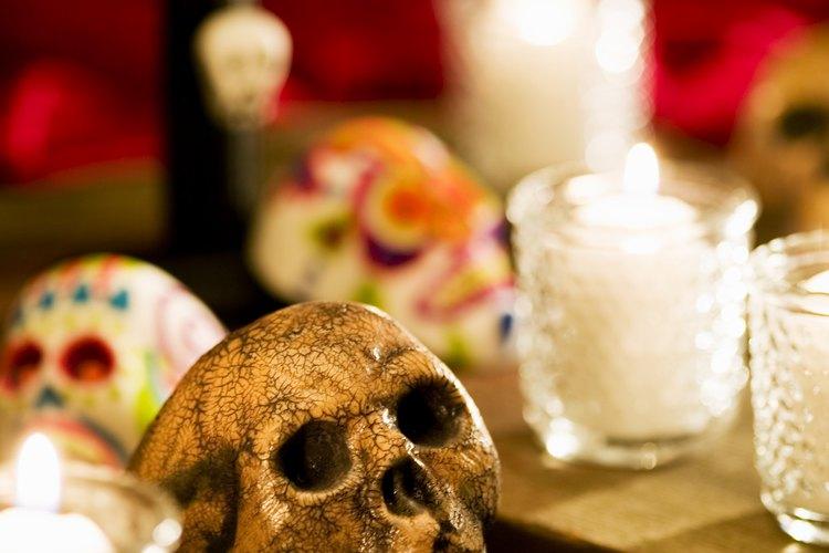 El día de muertos se celebra cada noviembre en México.