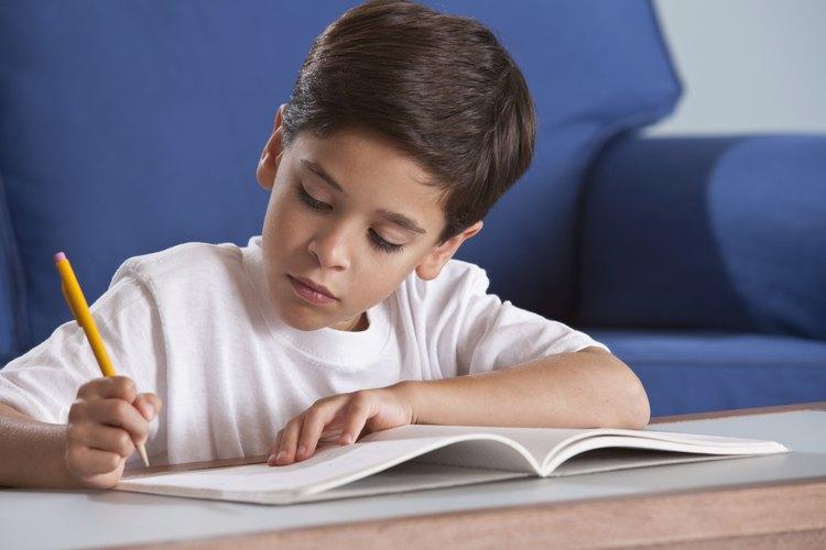 El color azul crea un ambiente calmo donde tu niño puede estudiar y completar la tarea.