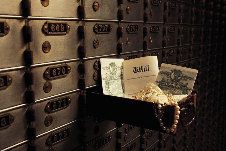 Las cajas fuertes a menudo se usan para proteger los objetos de valor de los robos.